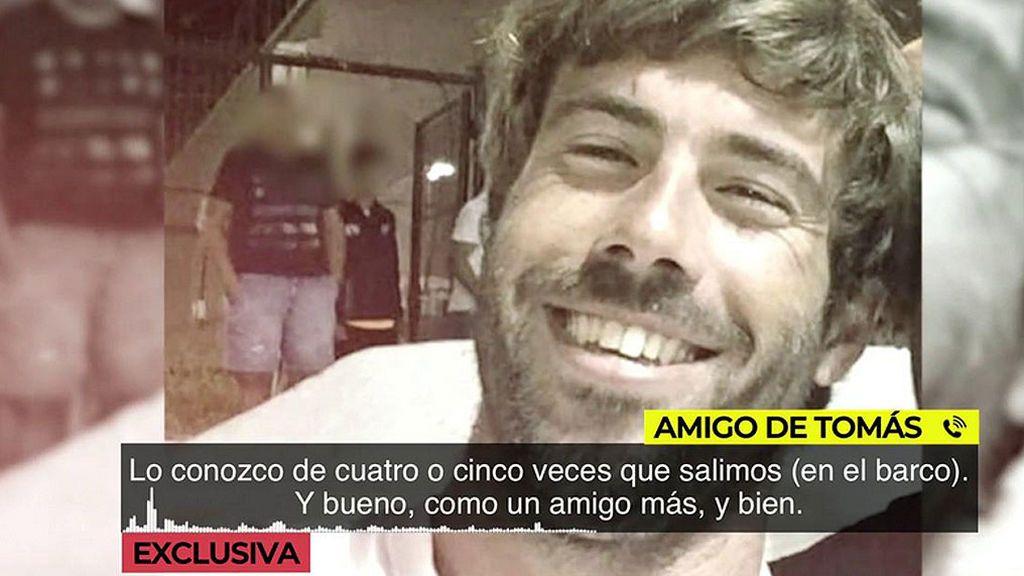 """Según un amigo de Tomás Gimeno su barco sí tenía ancla: """"Yo no vi plomos, pero ancla si tenía"""""""