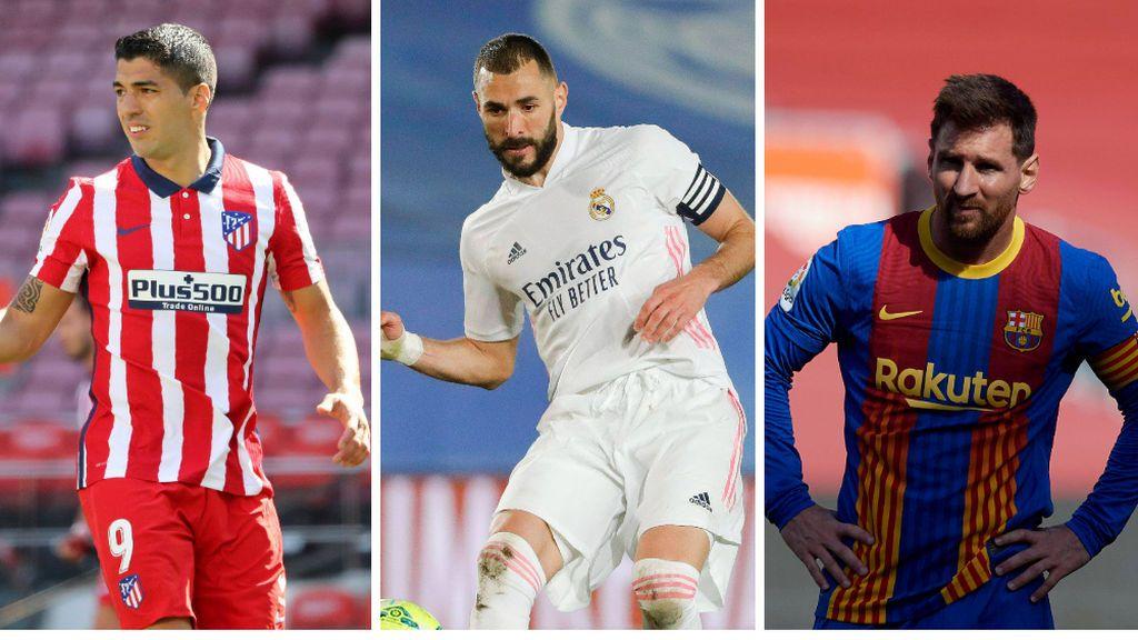 Atlético y Real Madrid se juegan la Liga este fin de semana: el Barcelona apura sus opciones