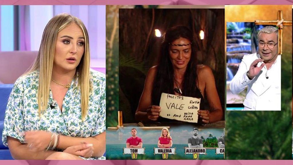 Rocío Flores, muy seria tras la broma de Jorge Javier a Olga Moreno