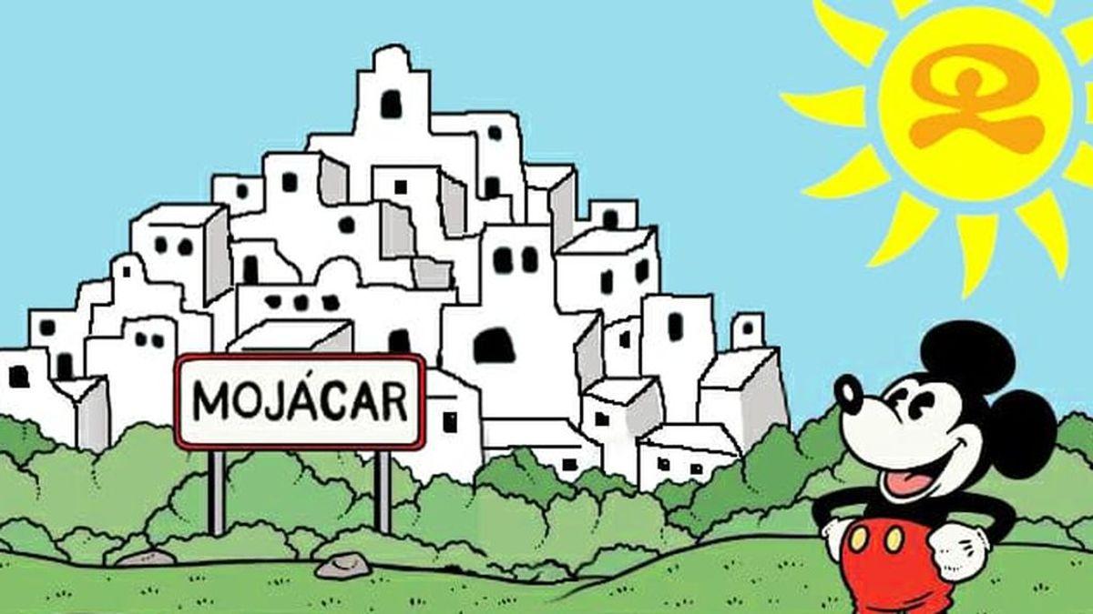 """""""Walt was here"""", la asociación que mantiene la leyenda de que Walt Disney nació en Mojácar"""