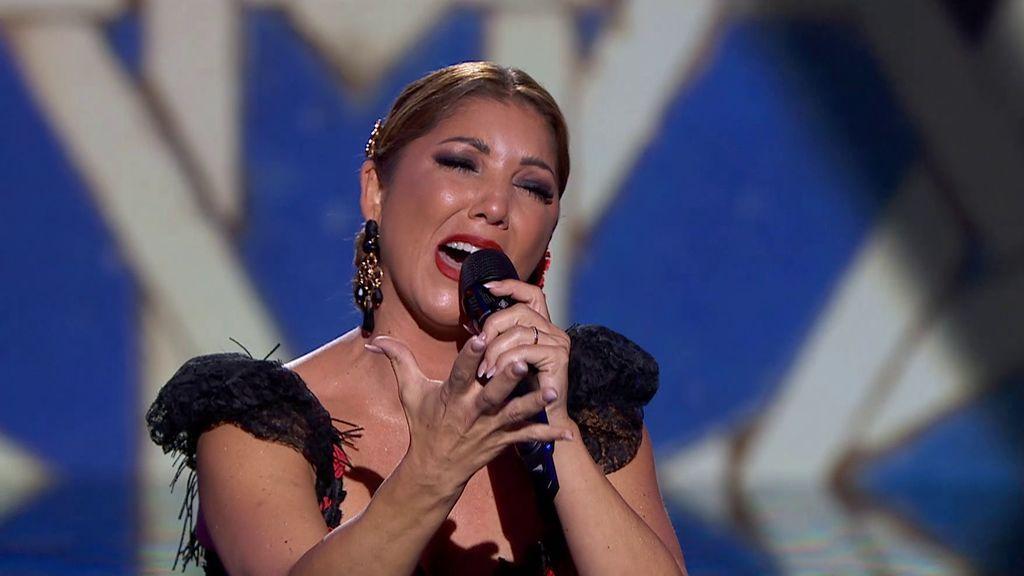 La actuación de Joana Jiménez