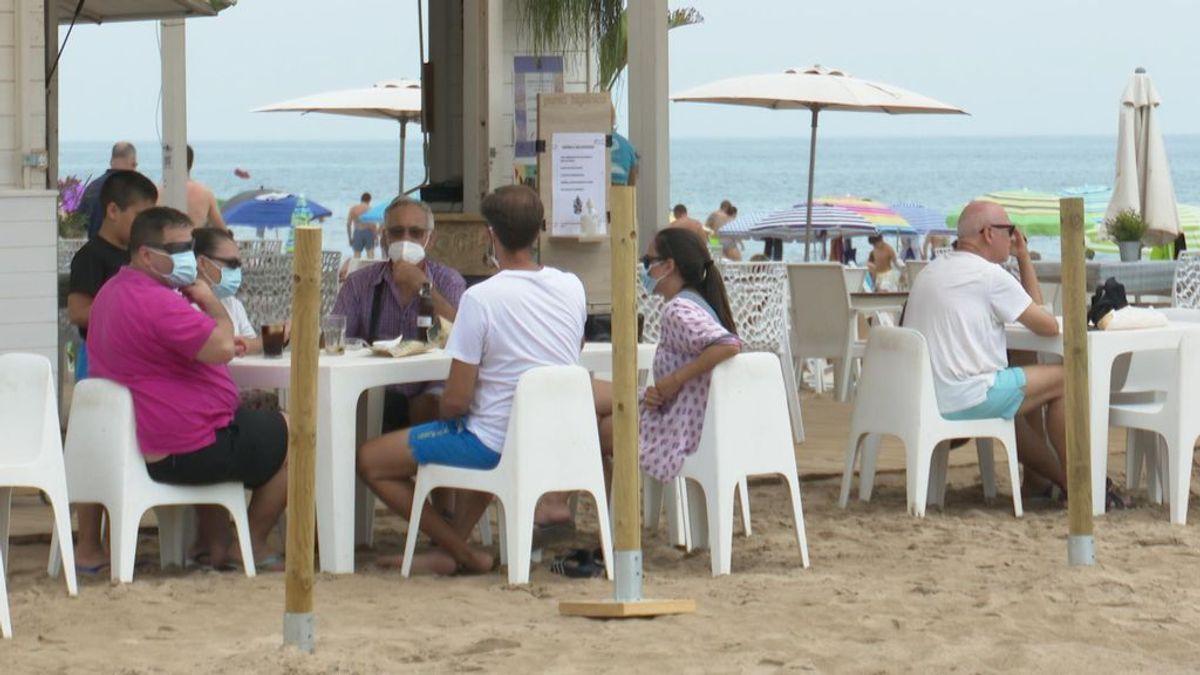 Las fuerzas de seguridad toman la costa valenciana para recibir a los turistas este fin de semana