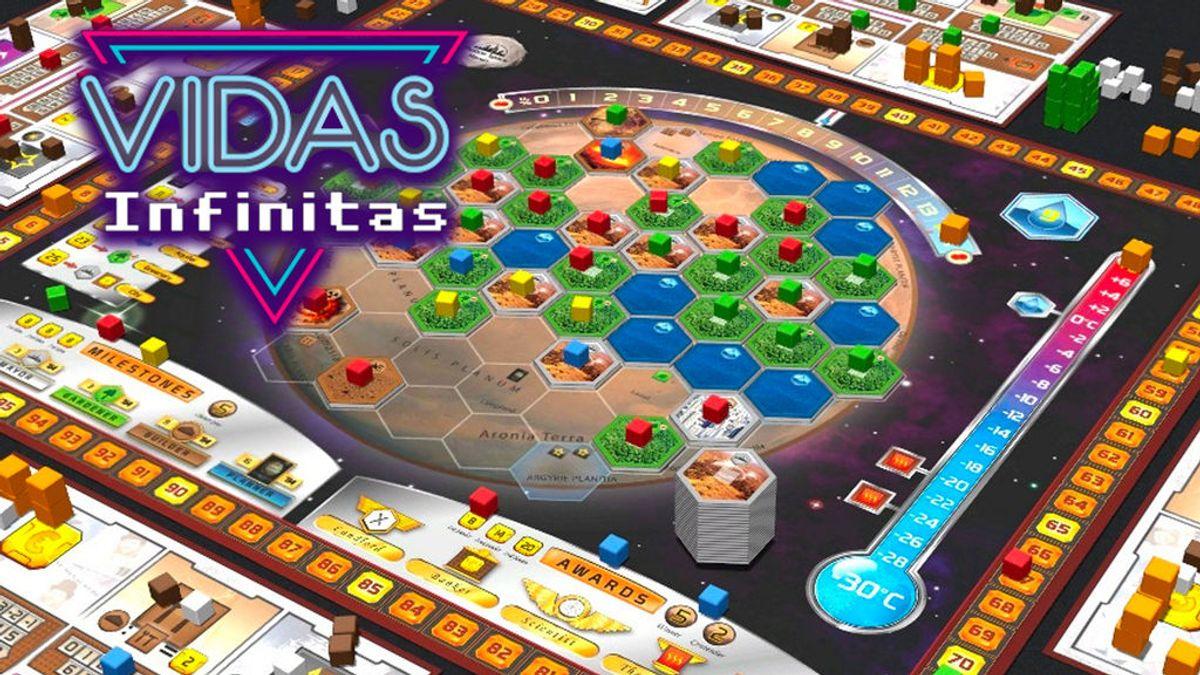Vidas Infinitas #14: hablamos de juegos de mesa con Maldito Games