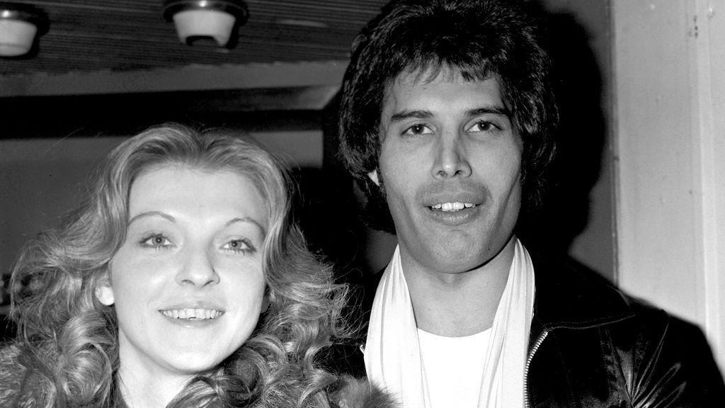 Mary y Freddie en 1977