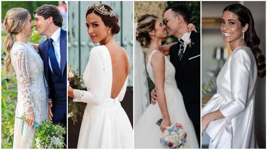 Los peinados de las influencers en sus bodas que podrás copiar: 5 ideas espectaculares.