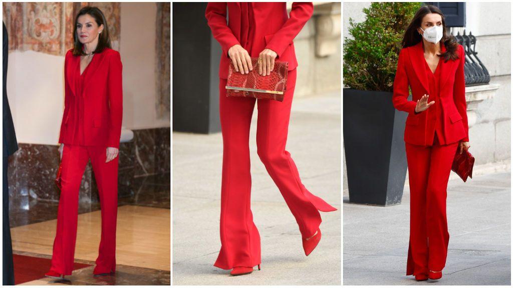 El conjunto rojo de la reina ha triunfado.