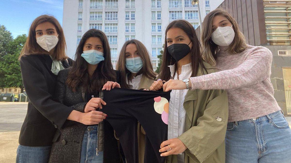 Estudiantes de moda desarrollan unos leggins para embarazadas que permiten escuchar el latido del bebé