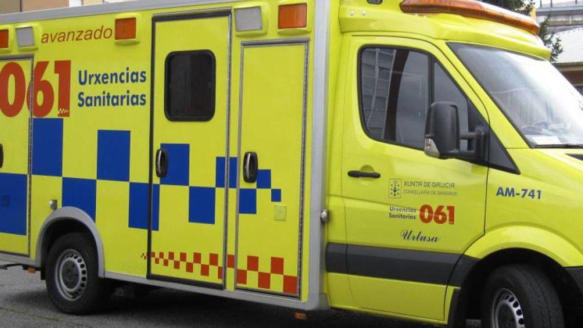 Un menor es atropellado accidentalmente por su padre madre en Vimianzo, A Coruña