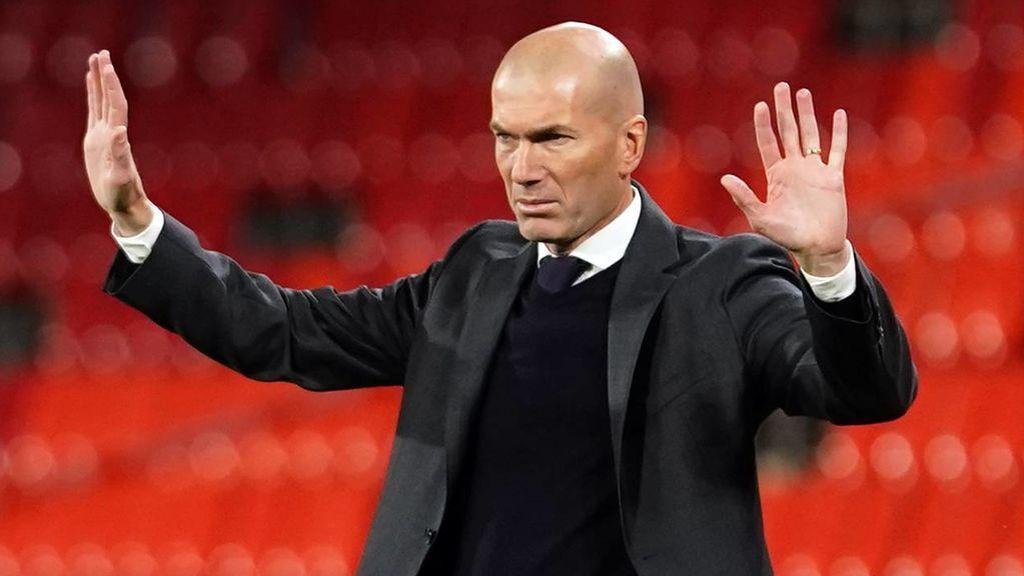 Zidane no se ha pronunciado sobre su futuro en el Real Madrid.