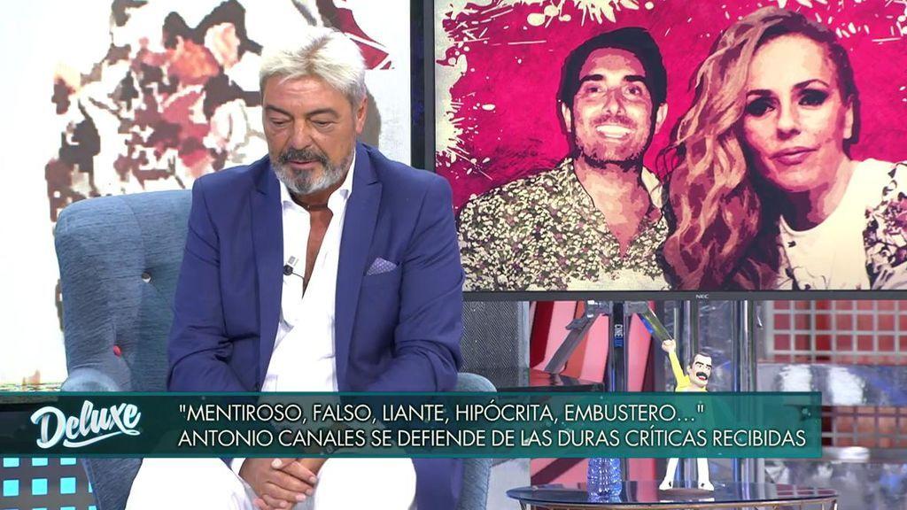 Antonio Canales aclara su relación con Rocío Carrasco y Fidel Albiac