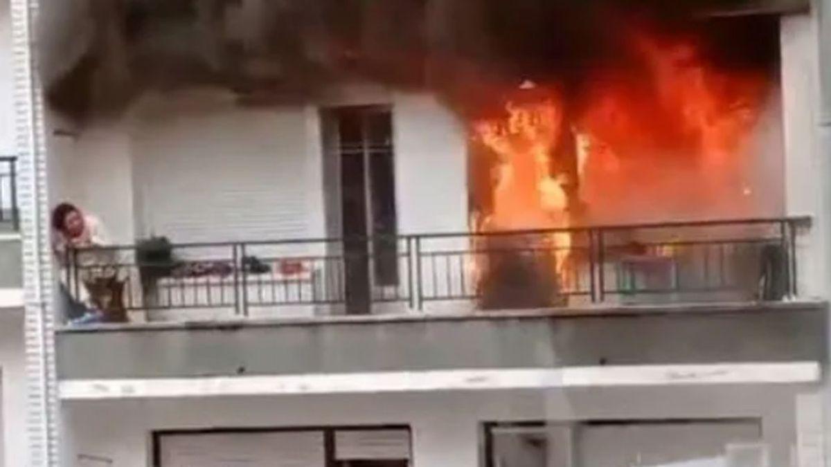 Cómo sobrevivir a un incendio en casa