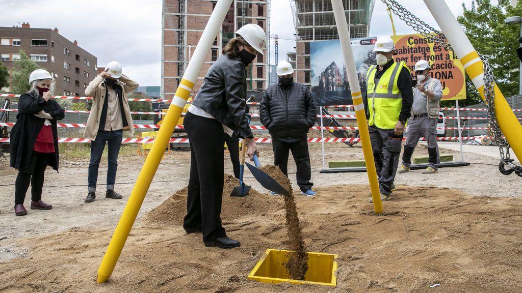 Barcelona construye más vivienda pública que nunca con más de 2.000 en marcha