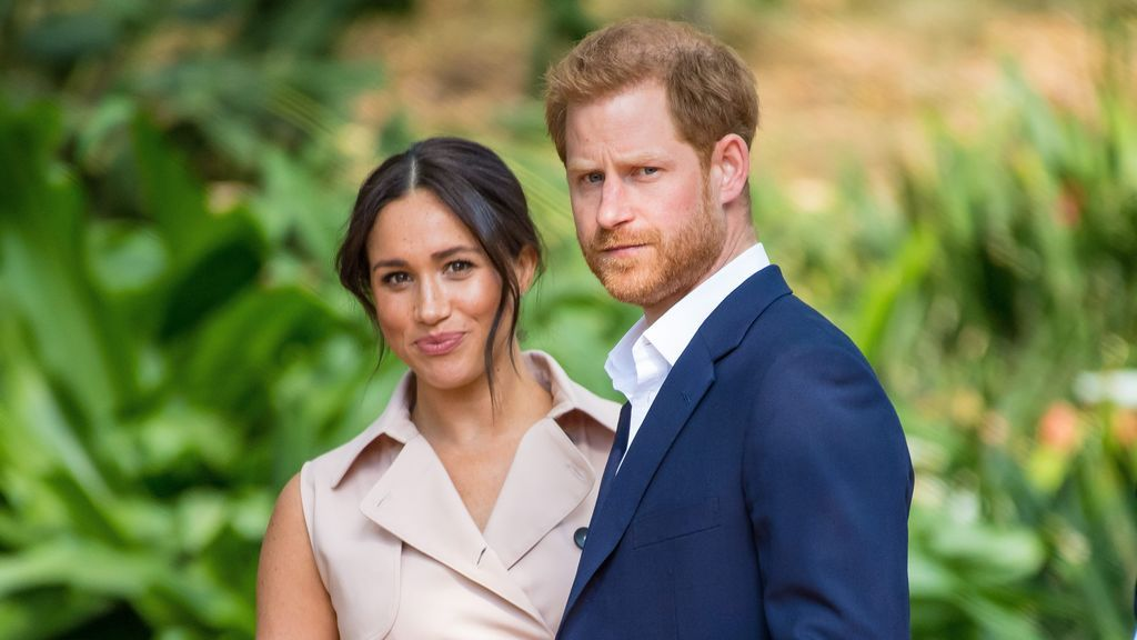 """Meghan and Harry, secluded from Madame Tussauds with """"their new friends"""""""
