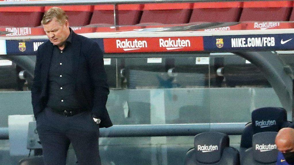 """Koeman no quiere ni oír hablar de su futuro en el Barça:  """"No voy a contestar"""""""