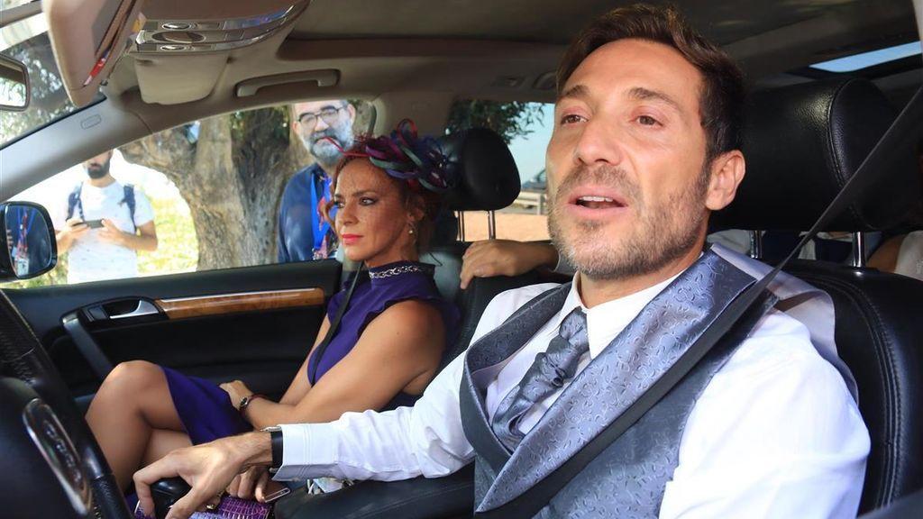 Antonio David Flores acude a la boda de José Ortega Cano y Ana María Aldón