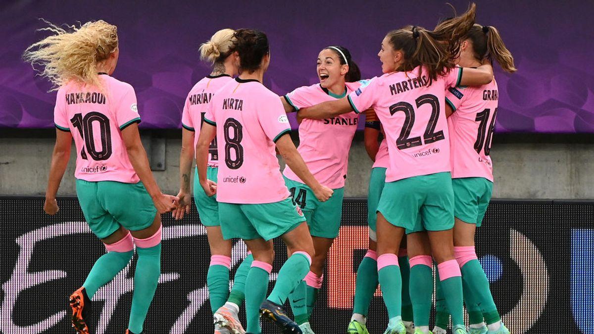 El Barça femenino hace historia al golear al Chelsea en la final de la Champions (4-0)