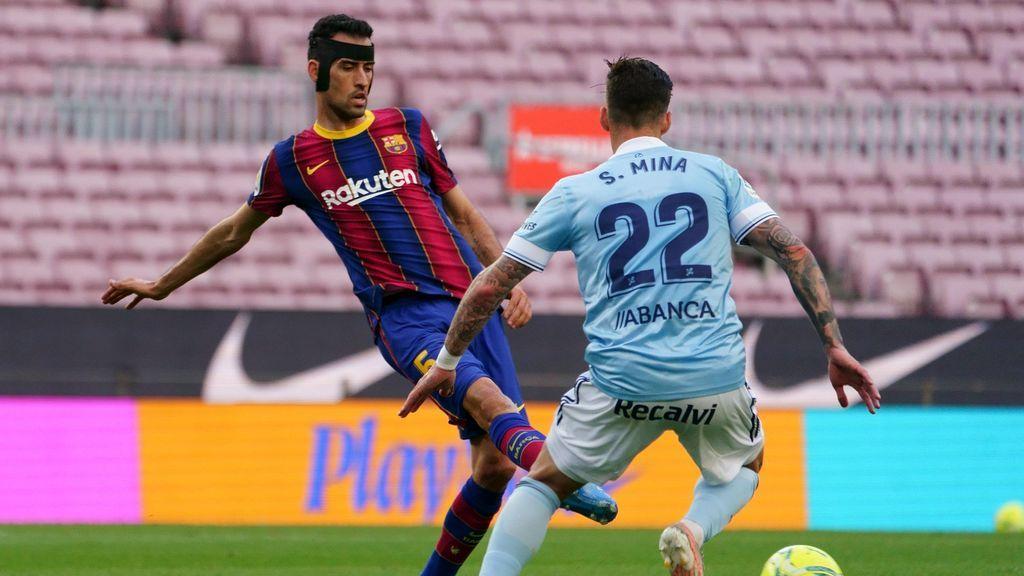 El Barça pierde ante el Celta (1-2)  y se borra matemáticamente de La Liga