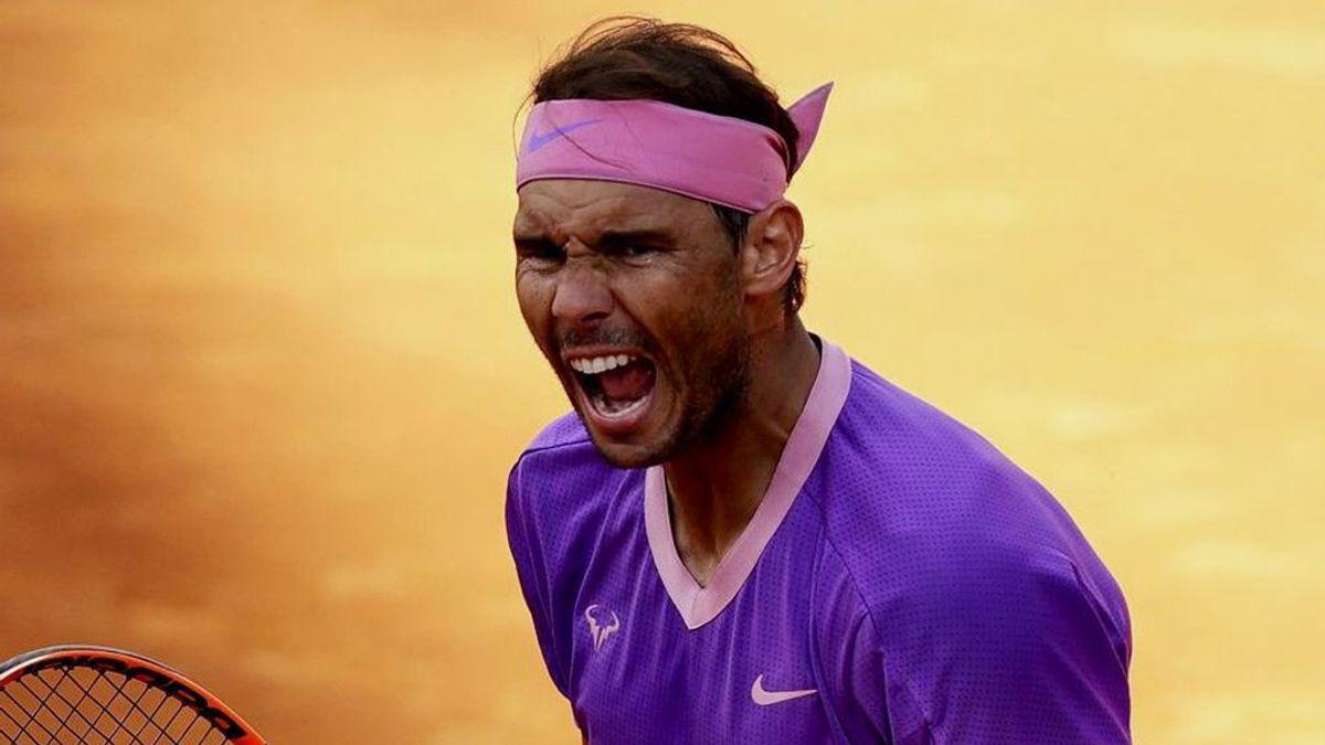 Un épico Nadal se lleva el título de Roma ante Djokovic (7-5, 1-6, 6-3)