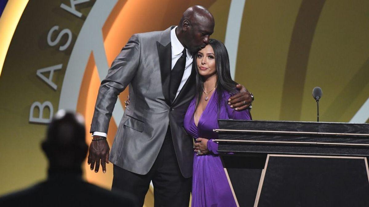 """Kobe Bryant entra en el Salón de la Fama: """"El gran campeón sigue ganando"""""""