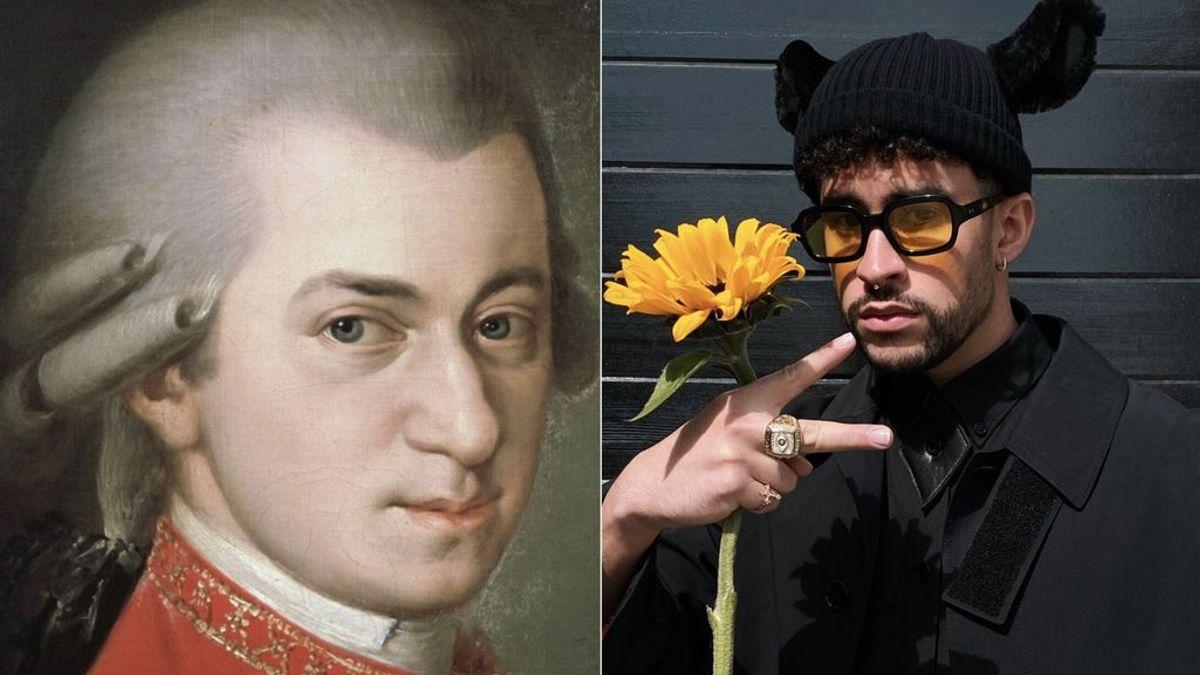 Mozart y Bad Bunny