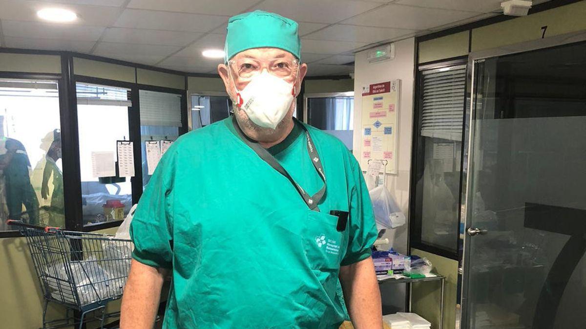"""Dr. Carrasco, médico intensivista: """"Una muerte tiene aún menos sentido si es por una noche de fiesta"""""""