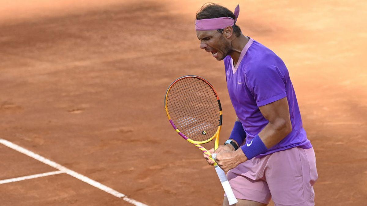 Nadal derrota a Djokovic y gana su décimo título en Roma