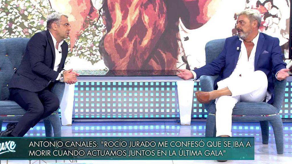 Antonio Canales, entrevistado por Jorge Javier Vázquez.