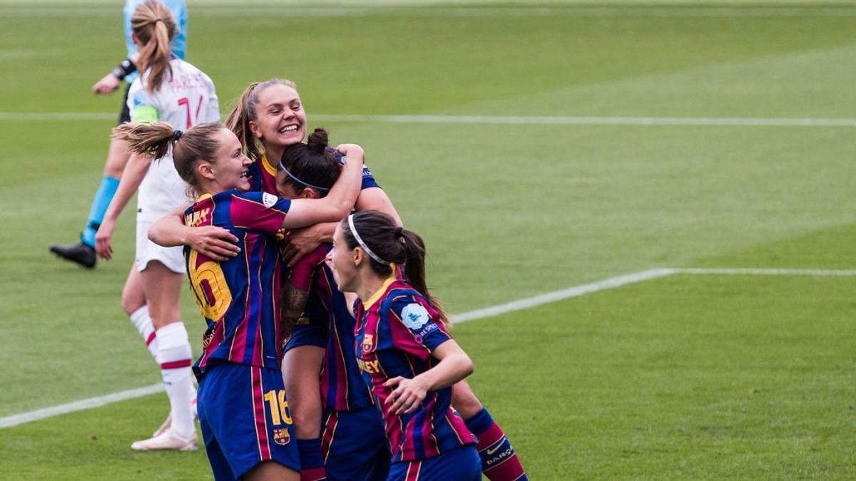 El Barça, a por su primera Champions femenina en la final de esta noche frente al Chelsea