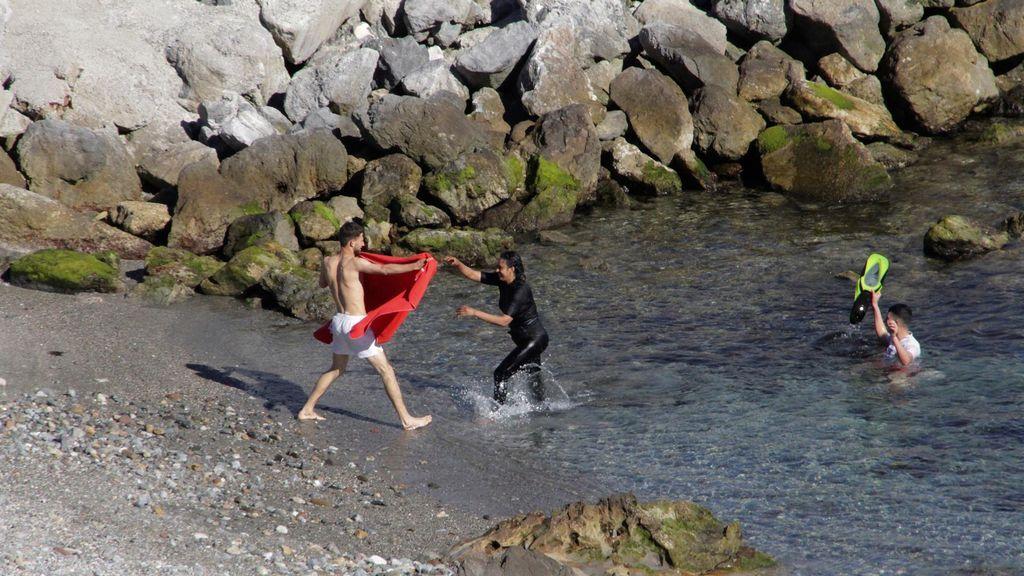 Fallece ahogado cuando intentaba entrar a nado en Ceuta