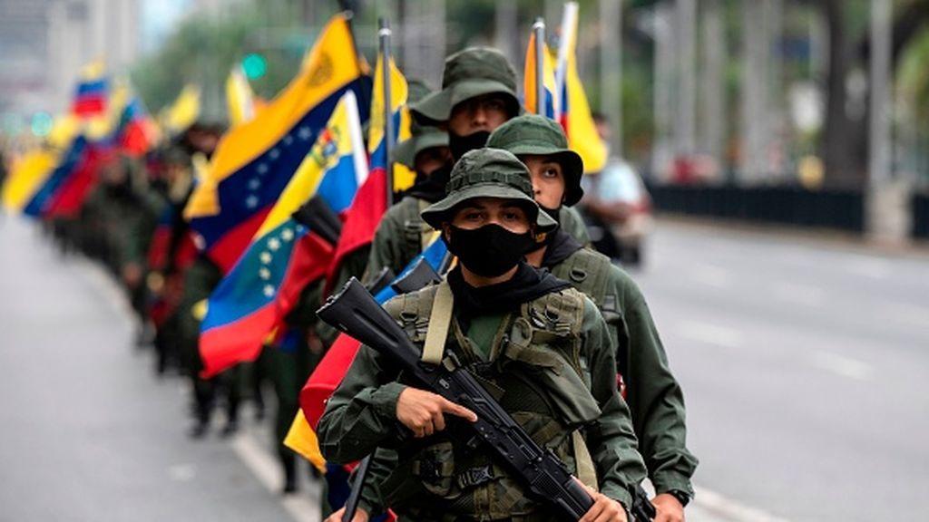 Ocho militares venezolanos secuestrados por las FARC