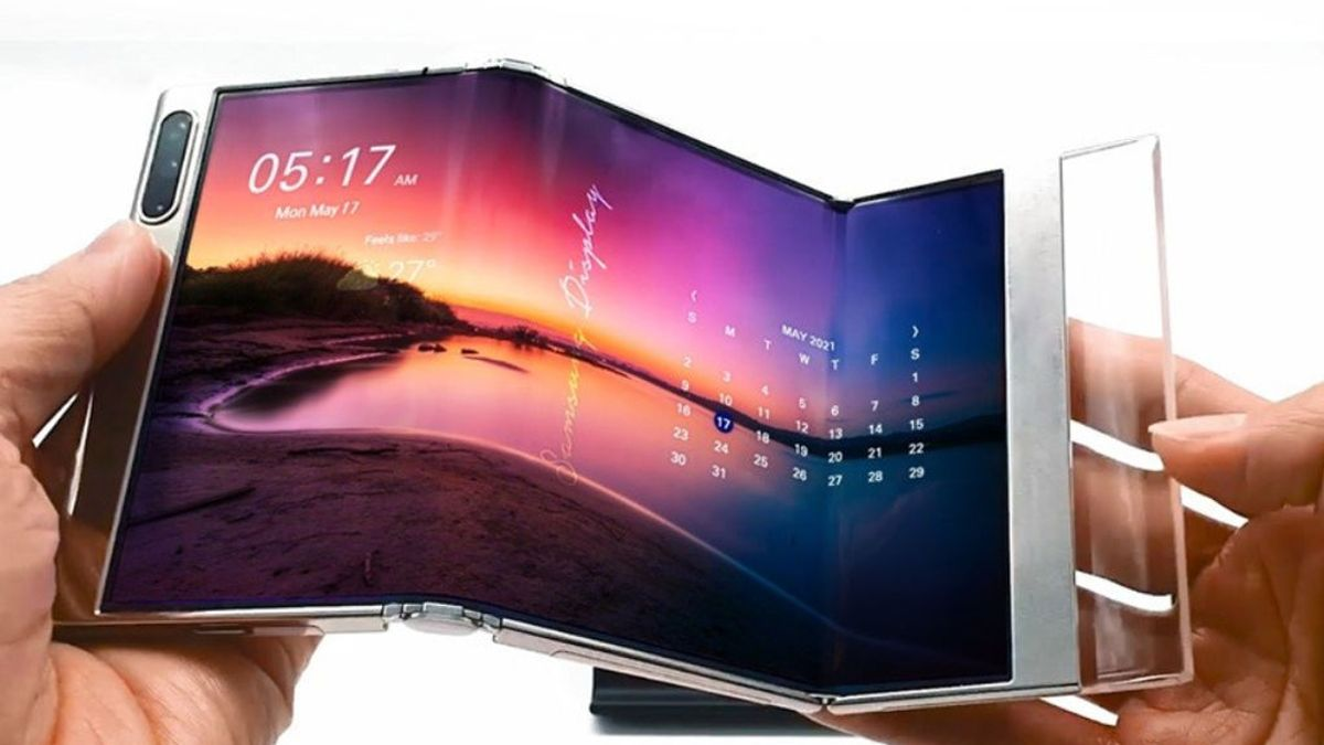 Samsung anuncia nuevas pantallas plegables en forma de 'S' y enrollables