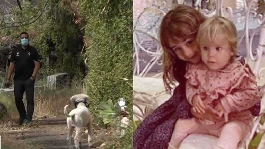 Los perros de la Guardia Civil buscan sangre de Anna y Olivia en casa de su padre
