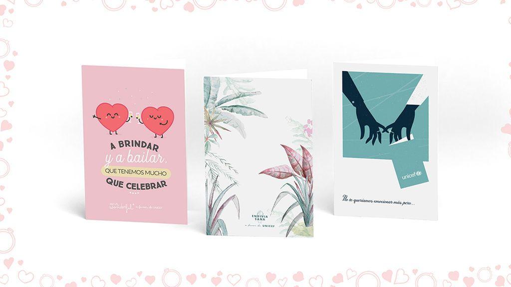 ¿Sin ideas de regalo para un aniversario de boda? Regalo Azul, la alternativa solidaria de UNICEF para celebrar el amor
