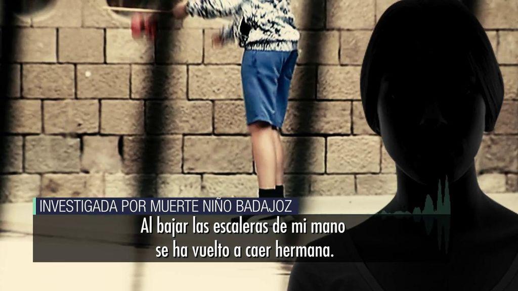 Los audios de la madrastra, sobre el niño fallecido en Badajoz