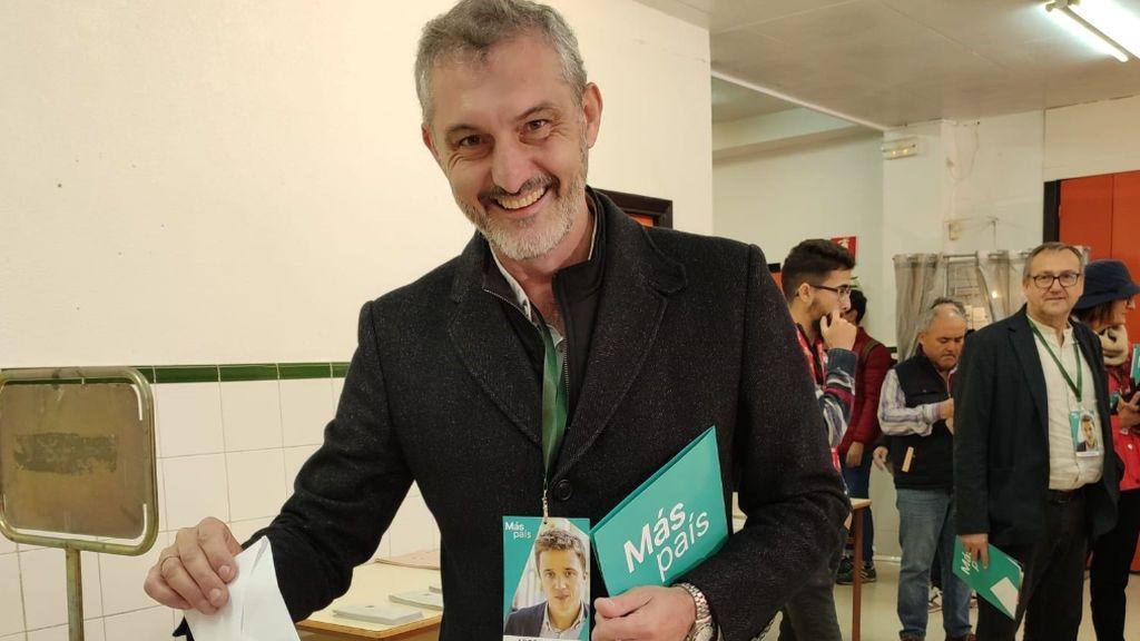 Óscar Urralburu, nombrado portavoz nacional de Más País