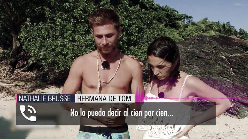 La hermana de Tom Brusse estalla contra Sandra Pica