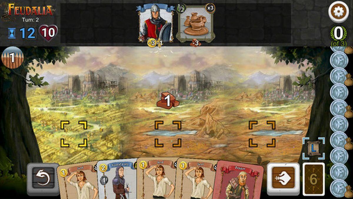 El juego de mesa Feudalia llega en formato videojuego a Steam