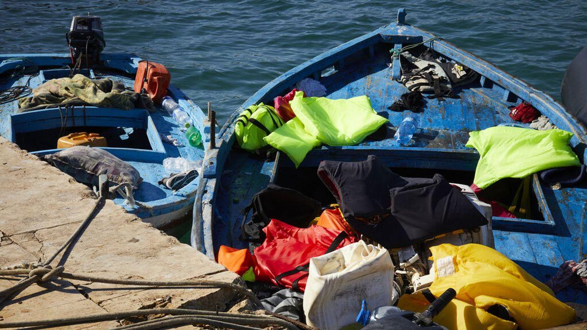 Mueren 50 personas al naufragar la barca en la que habían abandonado Libia