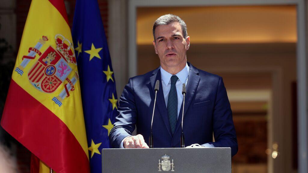"""Pedro Sánchez: """"Vamos a restablecer la normalidad en Ceuta, seremos firmes ante cualquier desafío"""""""