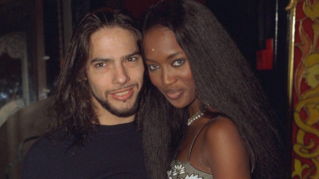 Naomi Campbell con Joaquín Cortés
