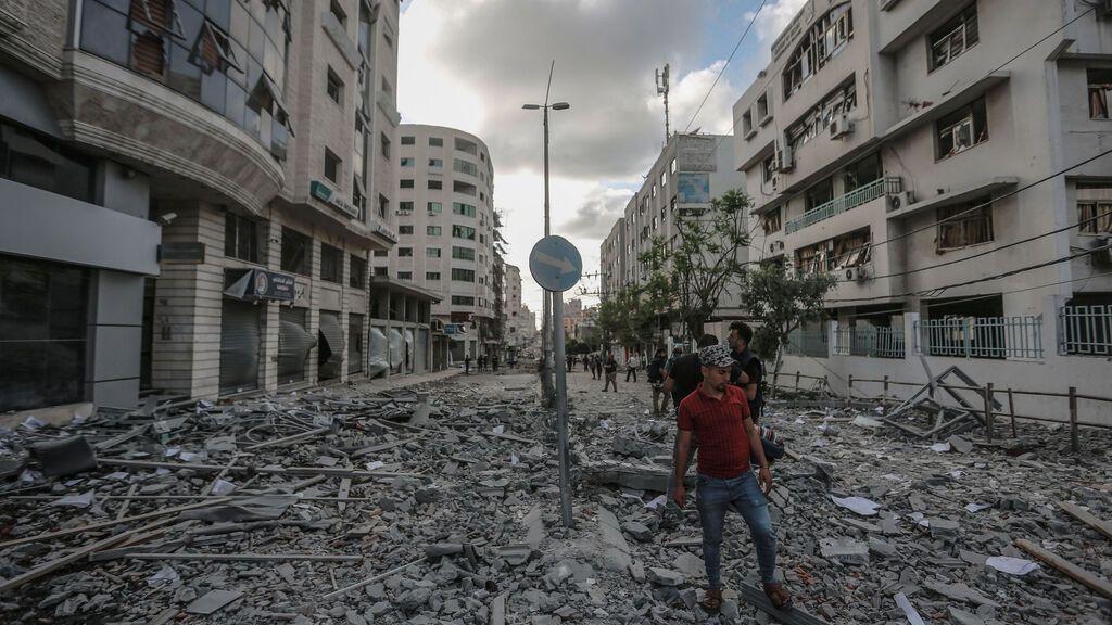 """Israel continuará bombardeando Gaza """"al menos durante dos días más"""""""