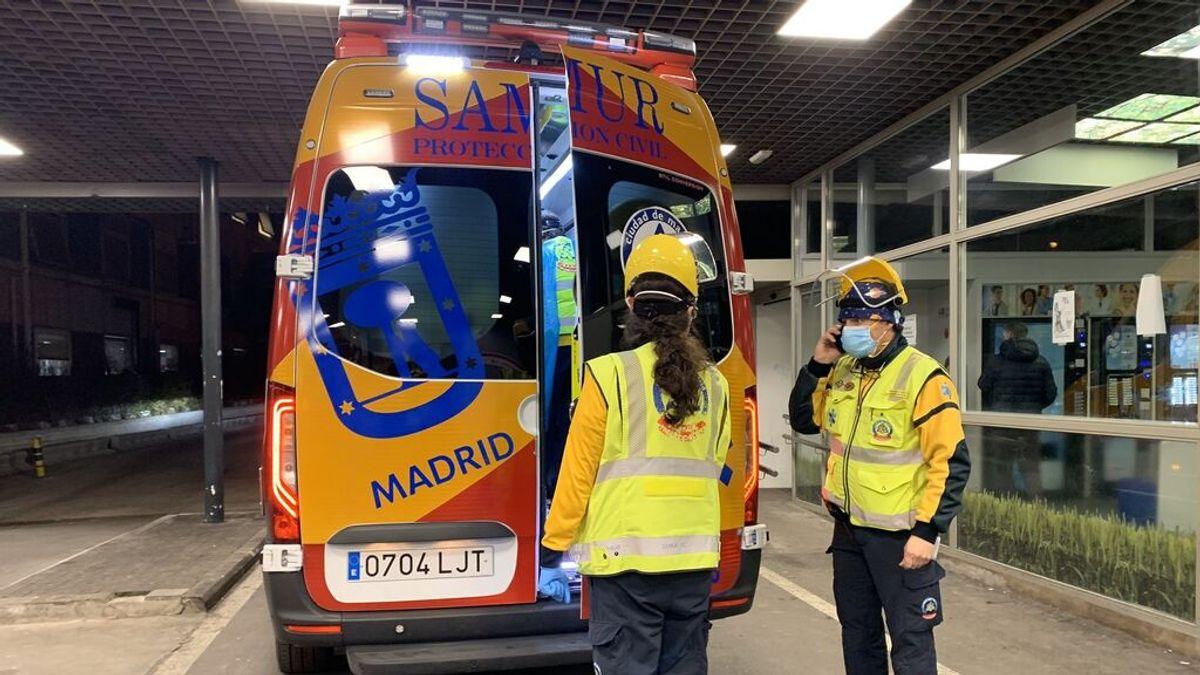 Muere un hombre apuñalado en una calle de Madrid