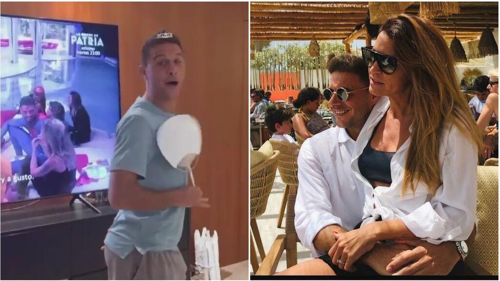 Joaquín le gasta una broma a su mujer con la 'Isla de las Tentaciones': le asegura que le han ofrecido 1 millón de euros por concursar