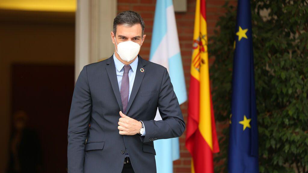 """Sánchez: """"Vamos a restablecer el orden en las fronteras"""""""
