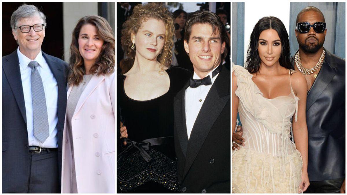 Estos han sido los divorcios más caros del siglo: desde el de Bill Gates al de Kim Kardashian, pasando por Nicole Kidman.