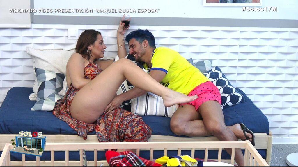 El acercamiento de Steisy y Manuel