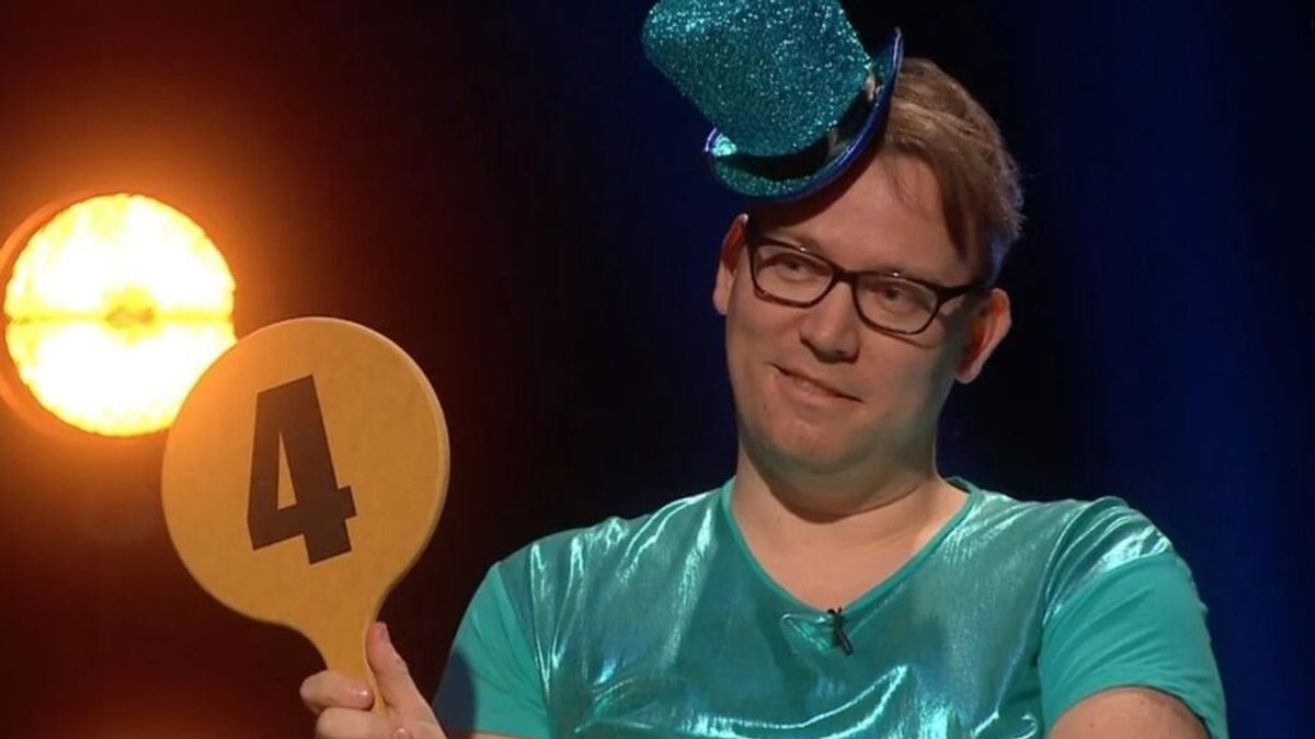 Un comentarista de 'Adresse Rotterdam' en la TV Noruega