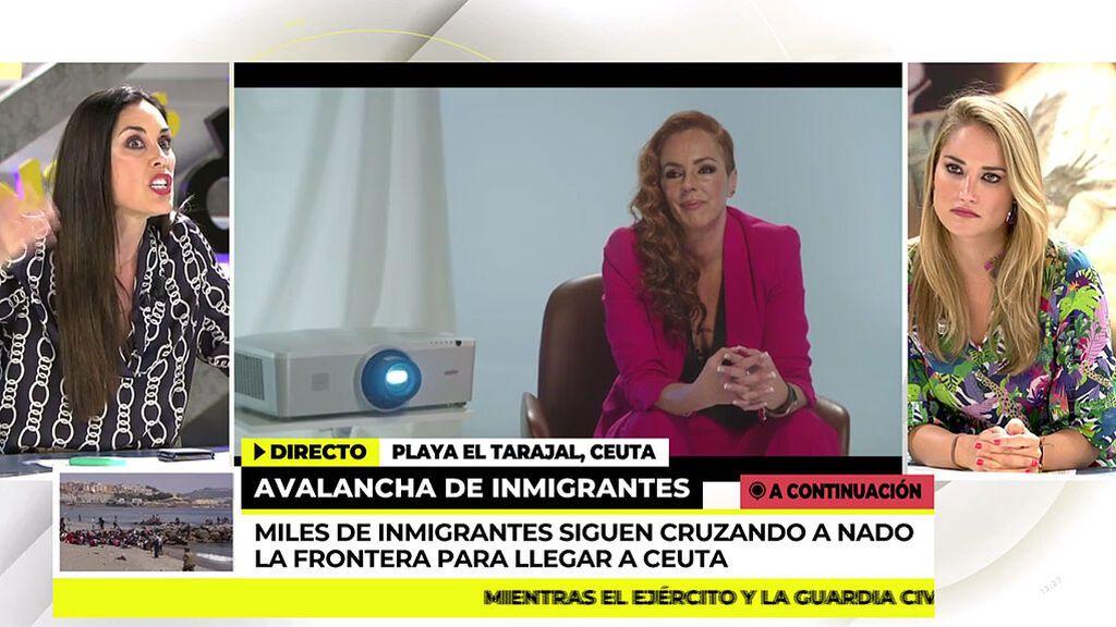 """Alba Carrillo carga contra Olga Moreno: """"Su caché que se lo den a Rocío Carrasco parece que está concursando ella"""""""