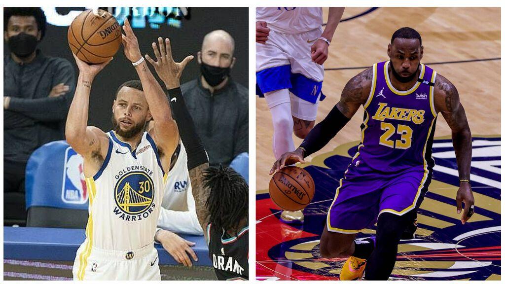 Curry máximo anotador de la temporada y al Play-in contra Lakers