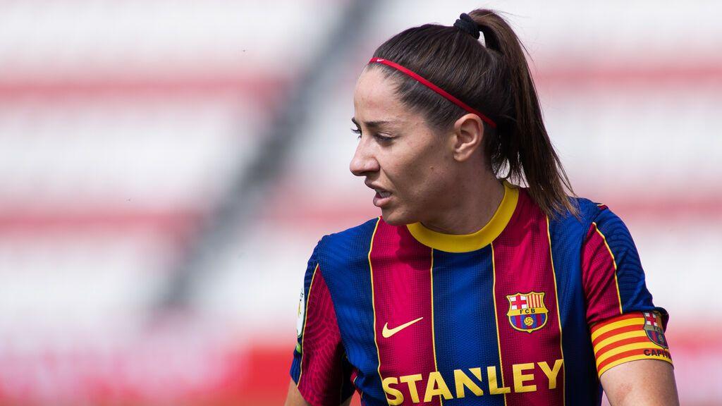 """Las emotivas palabras de Vicky Losada, jugadora de fútbol del Barça: """"Con esta victoria abrimos muchas puertas a las niñas"""""""